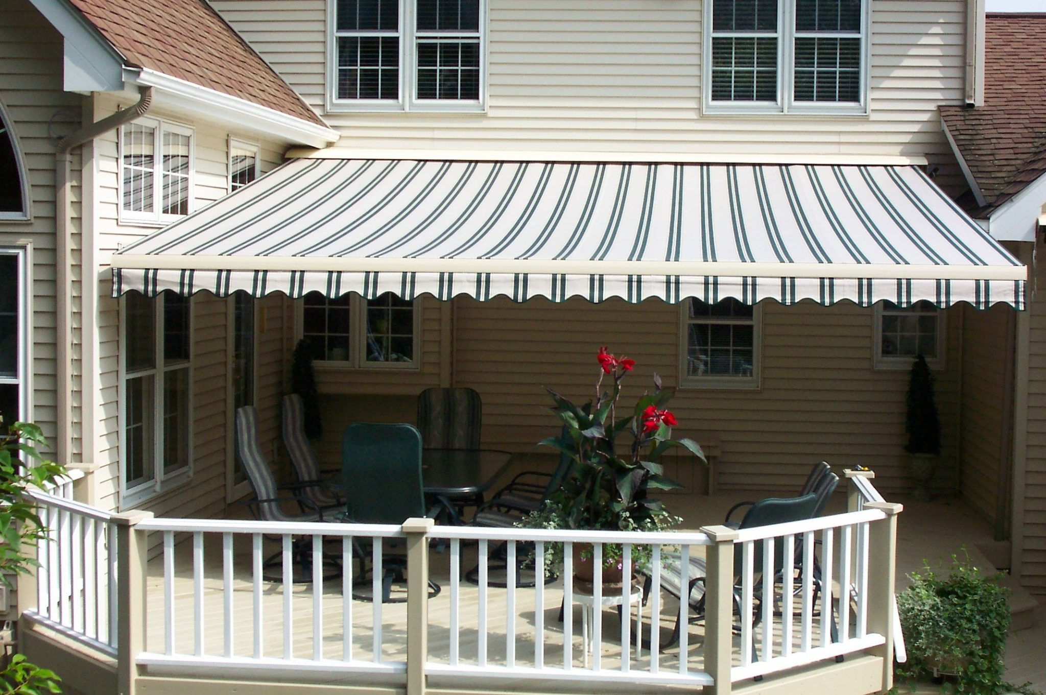 Retractable Awnings And Shades Abc Windows And More