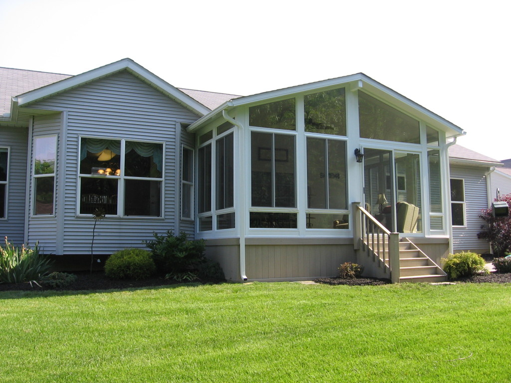 Vinyl sunrooms Perrysburg Ohio ABC Windows And More