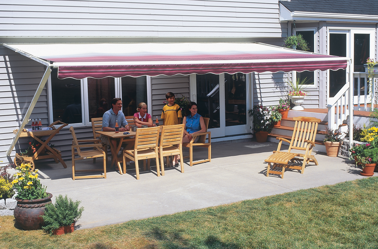 new product db7c8 b0d6c Retractable Awning Features - ABC Windows And More