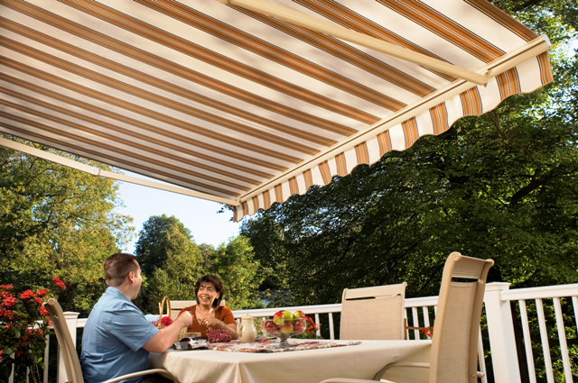 Motorized Retractable Awnings Abc Windows And More