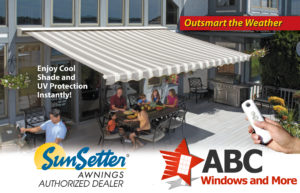Motorized Retractable Awnings by Sunsetter
